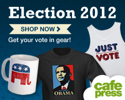 2012 Election Merchandise at CafePress